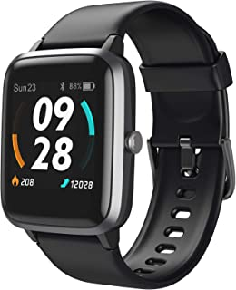 LETSCOM Smart Watch, GPS Running Watch Fitness Trackers with Heart Rate Monitor Step Counter...