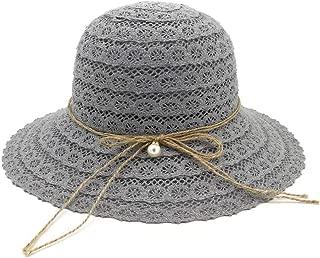 Sun Hat for men and women Summer Fashion Foldable Cotton Beach Bow Sun Hat Women Design Women's Beach Straw Hat Wide-brimmed Hat