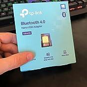 TP-Link UB400 Nano - Adaptador Bluetooth 4.0 USB Dongle para ordenador, portatil, auriculares, altavoz, teclado, compatible con Windows 10, 8, 8.1,7, ...