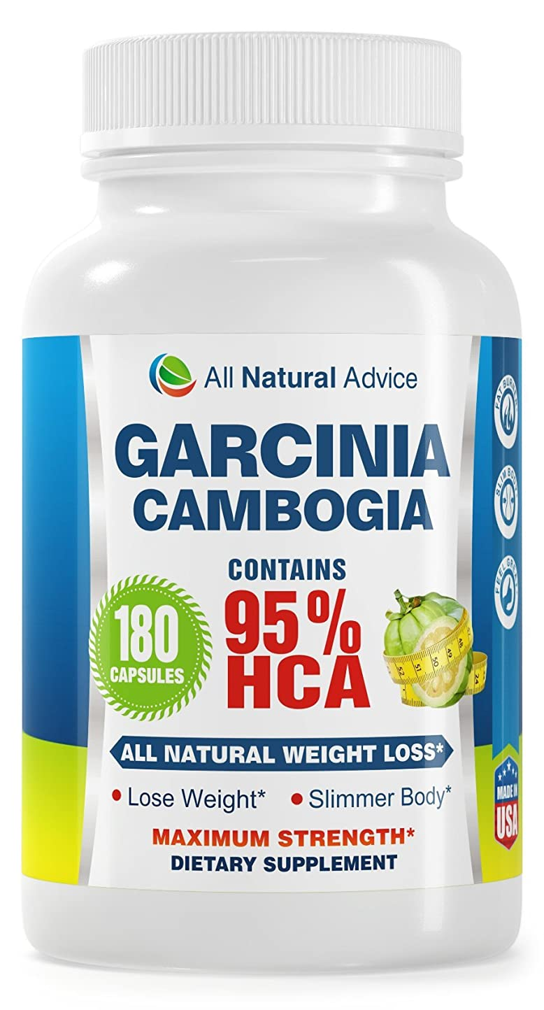 イベント気候の山チームガルシニアカンボジア Garcinia Cambogia 1000mg, 新フォーミュラHCAエキス95% 180錠(全米マスコミで話題のダイエットサプリ)Amazon Canadaで高品質により一番売り上げのガルシニア!海外直送品