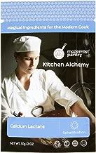 Pure Calcium Lactate (Molecular Gastronomy) ⊘ Non-GMO ☮ Vegan ✡ OU Kosher Certified - 50g/2oz