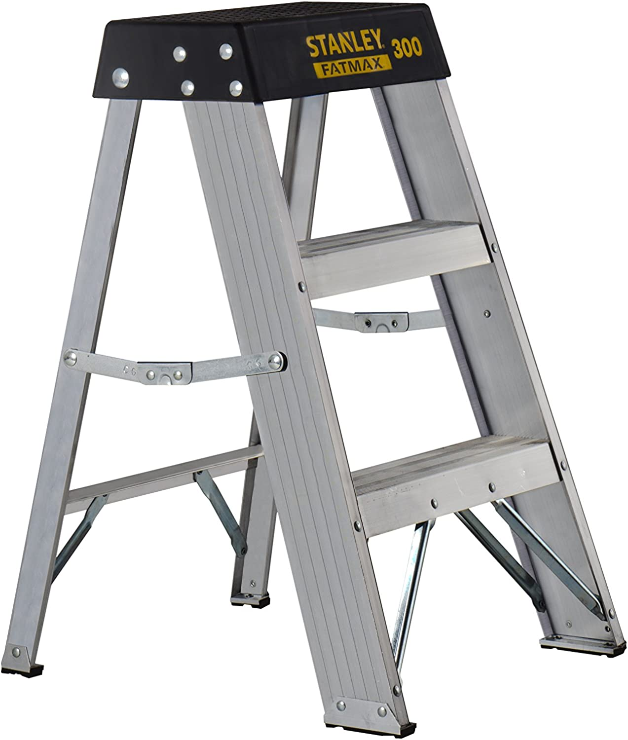 Stanley FatMax SXL2010-02 Aluminum Step Stool, 02-Foot, 300-Pound Load Capacity