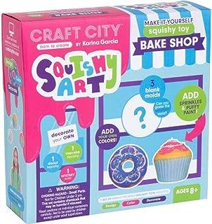 Craft City Karina Garcia DIY Kit for Squishy Art Bake Shop | Make Your Own Toys, Non Toxic | Ages 8+