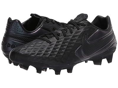 Nike Tiempo Legend 8 Pro FG (Black/Black) Cleated Shoes