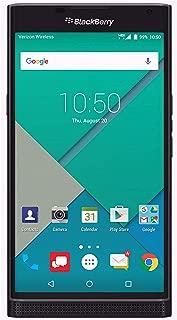 BlackBerry PRIV (32GB) Verizon Factory Unlocked Phone (GSM + CDMA) - U.S. Version STV100-2 (Black) (Renewed)