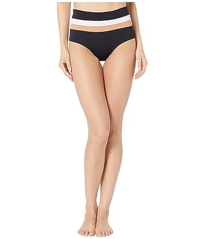 L*Space Color-Block Poria Stripe Bottoms (Black/Cream/Chestnut) Women