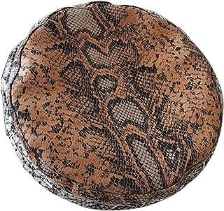 Snake Skin Pattern PU Leather Beret Hat Women Cap