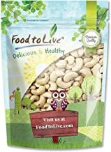 Raw Cashews, 2 Pounds – Deluxe Whole Nuts, Unsalted, Unroasted Fancy Snack, Size W-320, Kosher, Vegan, Bulk, A good source of Magnesium, Phosphorus, Copper & Manganese