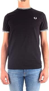 Luxury Fashion Mens M1588102 Black T-Shirt   Fall Winter 19