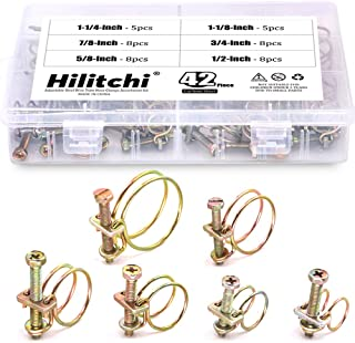 double wire hose clips pack of 3