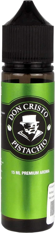 PG/VG Labs Aroma Don Cristo Pistachio Longfill Shake and Vape - Mezclador con base líquida para cigarrillo electrónico, 0,0 mg nicotina, 15 ml