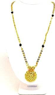 Arras Creations Designer Traditional Imitation Short Mangalsutra Necklace CZ Pendants for Women / AZMNGS001