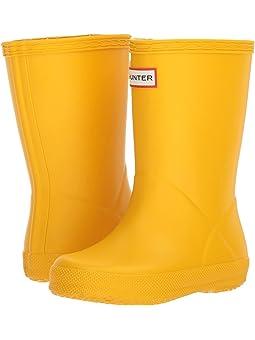 Hunter Kids Yellow Boots + FREE