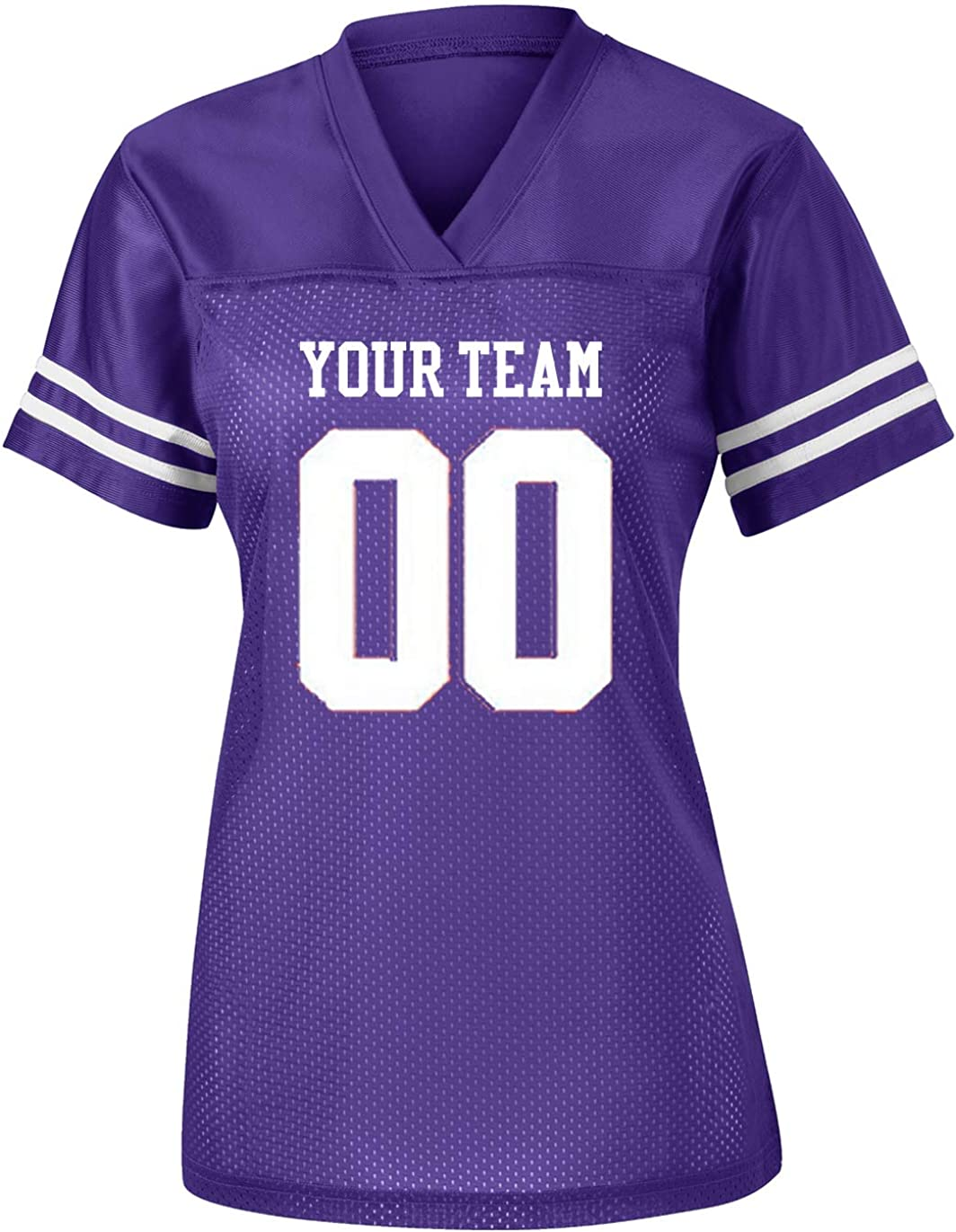 Mail order Womens Custom Memphis Mall Football Replica Jersey Team