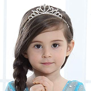 Girls Princess Crystal Tiara Crown For Birthday Party(Style1)(2pack)