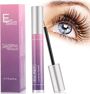 Eyelash Growth Serum, Nivlan Eyebrow Growth Serum, FDA Approved Natural Brow & Lash Enhancing Formula for Longer, Thicker Eyelashes and Fuller Eyebrows