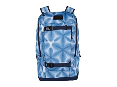 Burton Kilo 2.0 Backpack (Blue Dailola Shibori) Backpack Bags