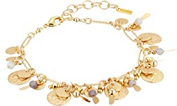 Chan Luu - Adjustable Charm and Coin Bracelet
