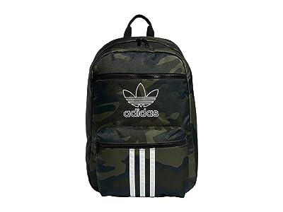 adidas Originals Originals National 3-Stripes Backpack (Adi Camo) Backpack Bags