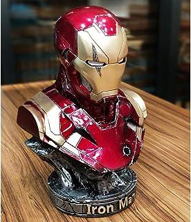 ZHPBHD Version de dommage de Combat modèle Iron Man MK46 Statue décoration Buste Ornement 36cm