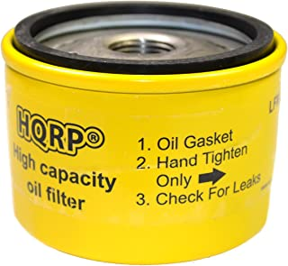 HQRP Oil Filter Works with Briggs & Stratton 492932S, 696854, 795890, 695396, 92134, 7045184, 492056 Replacement Riding Mower, Lawn Tractor Engines Plus Coaster