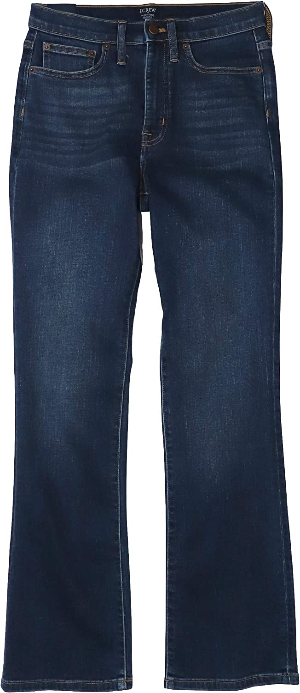 J.Crew Women's High-Rise Boot Cut Jeans