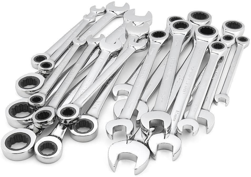 Craftsman Max 60% OFF 20 pc Combination Ratcheting Metric Wrench St Popular products MM Set
