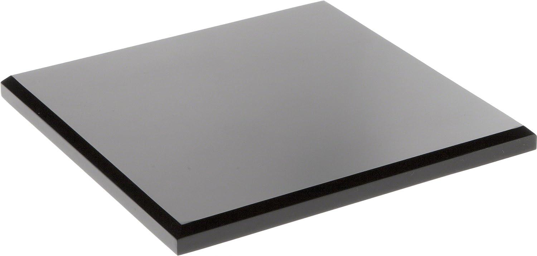 Plymor Black Acrylic Square Beveled Display Max 52% OFF 0.5