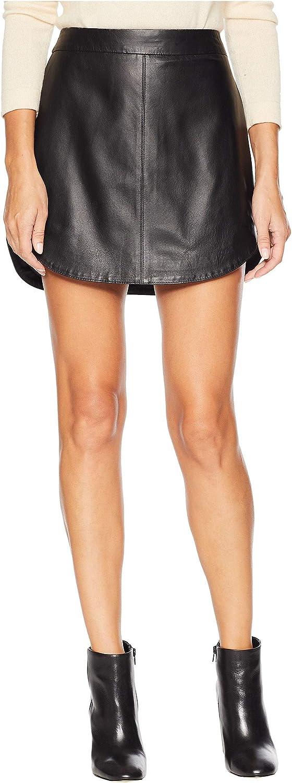 BB Dakota by Steve Madden womens Conrad Leather Mini Skirt