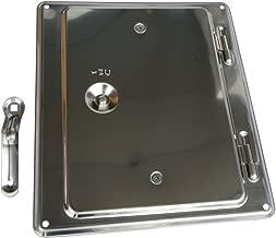 Upmann Kamintür Kaminklappe 14x20 cm verzinkt