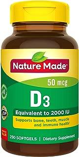 nature made vitamin d3 2000 iu softgels