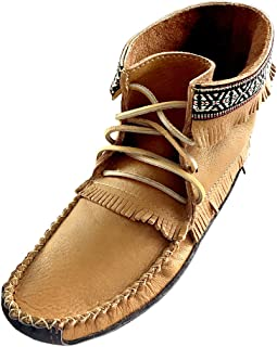 genuine leather indian moccasins