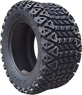 Arisun 23 X 10.5-12 Dot All-Terrain Tire for Golf Carts & Atv'S (6 Ply Rating) - 1, Set of 2 Or 4