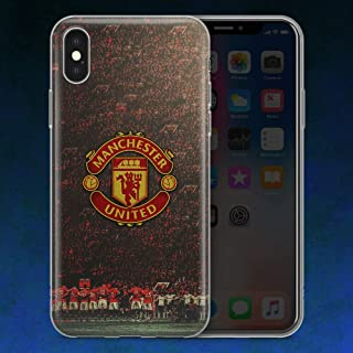 FC Manchester United Football Phone Case Cover for iPhone X XR XS max and iPhone 7 8 Plus (5, iPhone XR)
