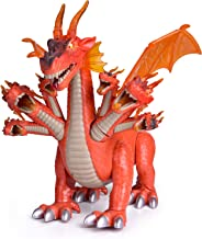 FunLittleToy Dragon Toys for Boys and Girls, 7 Headed Walking Dragon with Lights and Sounds, Gift Ideas for Kids