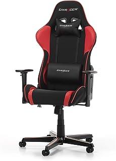 DX RACER Formula F11 Gaming Chair, Black/Red, Tela, Schwarz/Rot mit Stoffbezug, 85.5 x 69.7 x 35.2 cm