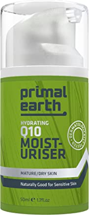 Primal Earth 24-Hour Moisturizer With Q10, 50ml