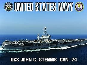 Navy Aircraft Carrier Poster USS John C. Stennis (ACC7)