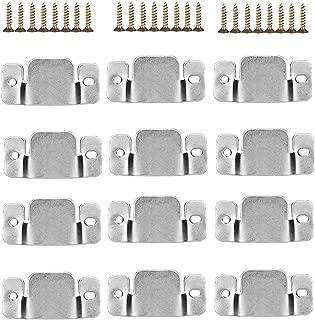 Universal Metal Sectional Sofa Interlocking Furniture Connector 12 Pcs