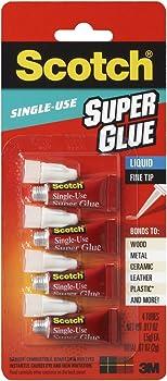 Scotch AD114 .07 Ounces Super Glue Liquid