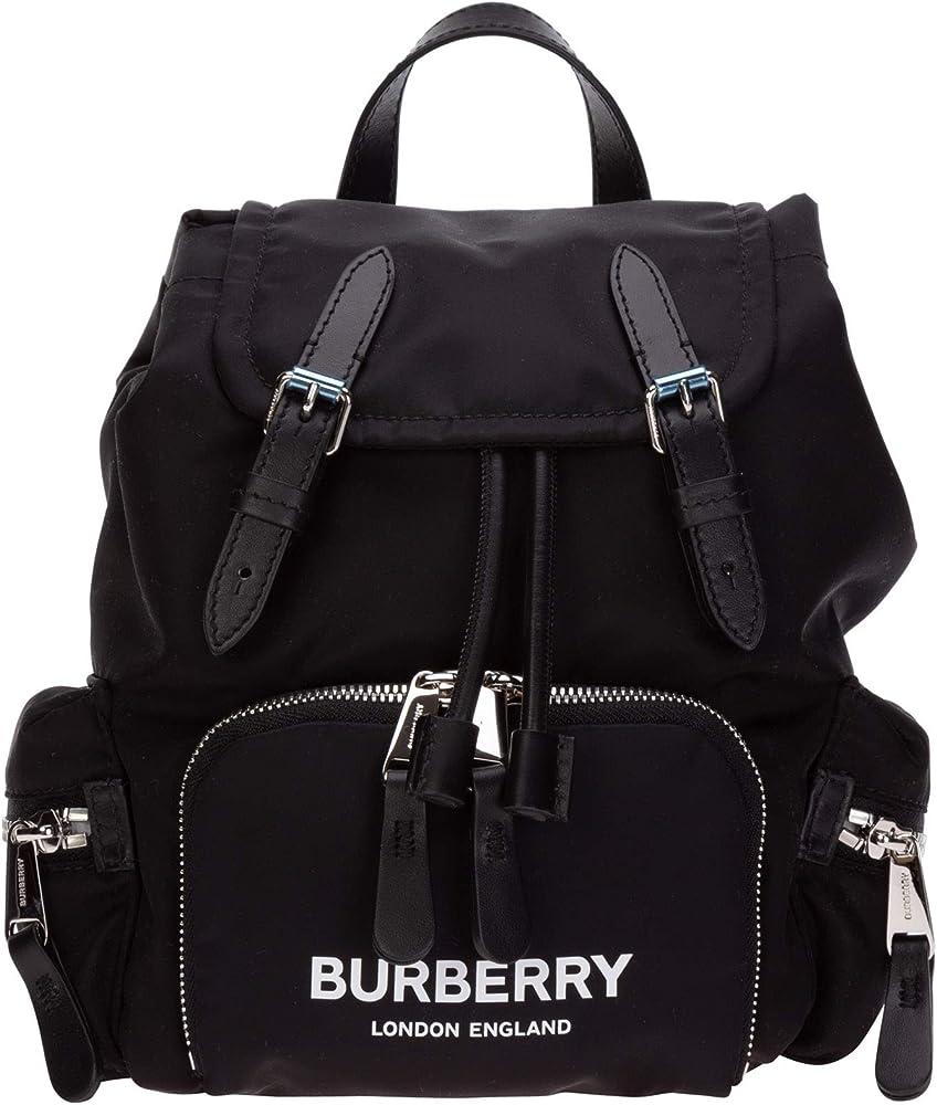 Burberry,zaino borsa per donna, the rucksack , in econyl 80212581
