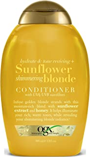 Ogx Conditioner Sunflower Shimmering Blonde 13 Ounce (385ml) (2 Pack)