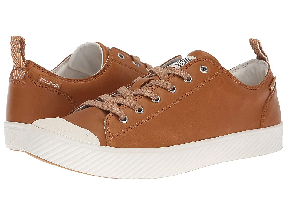 Palladium Pallaphoenix Low Leather (Cathay Spice/Marshmallow) Lace up casual Shoes