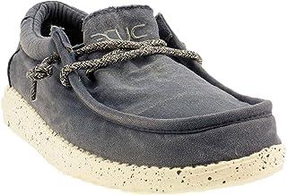 Dude - Zapatos con cordones de tela Wally Washed 6 colores