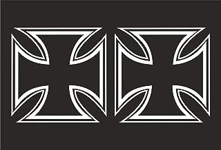 Suchergebnis Auf Für Eisernes Kreuz Aufkleber Auto Motorrad
