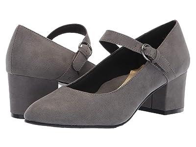 Soft Style Dustie (Dark Grey Faux Suede) Women