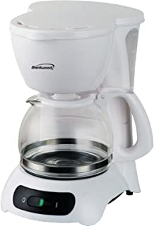 Brentwood TS-212 Appliances 4 Cup Coffee Maker, White