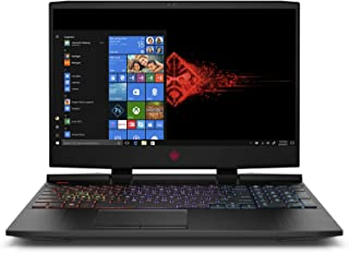 HP OMEN 15-dc0005ne Gaming Laptop - Intel Core i7-8750H, 15.6-Inch 4K IPS, 1TB + 256GB SSD, 16GB, 4GB VGA-GeForce GTX-1050Ti, Eng-Arb-KB, Windows 10, Black