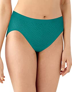 Bali Women's Comfort Revolution Seamless Hi-Cut Brief Panty