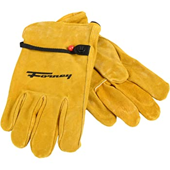 Large Forney 53048 Cowhide Leather Driver Premium Mens Gloves
